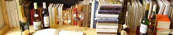 Bücher und Weine